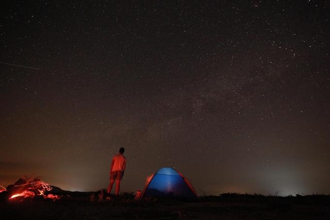 Cuối tuần cắm trại ngắm sao băng ở Mũi Yến, Phan Thiết