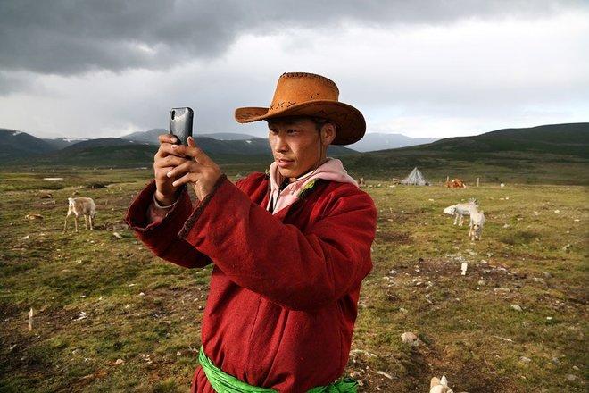 Cuộc sống của người chăn tuần lộc ở Mông Cổ