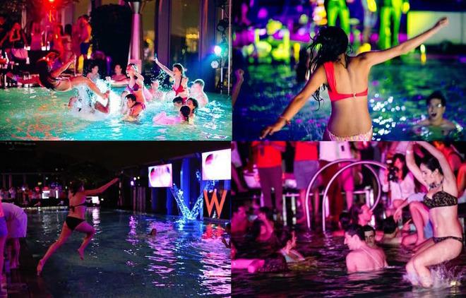 8 đại tiệc bể bơi nóng bỏng nhất thế giới