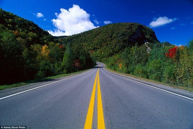 Những con đường đẹp nhất Canada