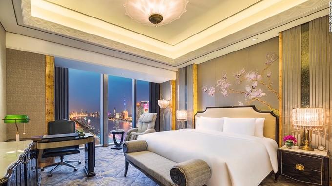 Bên trong khách sạn 7 sao 'tự phong' đầu tiên ở Thượng Hải