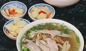 Miến măng ngan - món ngon mùa đông Hà Nội
