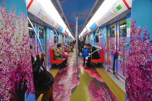Trung Quốc phủ xanh tàu điện ngầm - ảnh 6