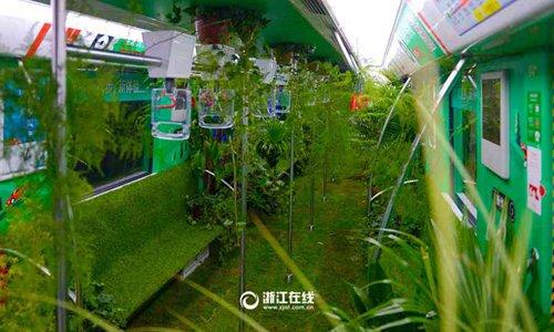 Trung Quốc phủ xanh tàu điện ngầm - ảnh 3