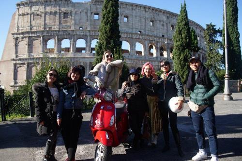 Khám phá thành Rome cùng các fashionista Việt - ảnh 4