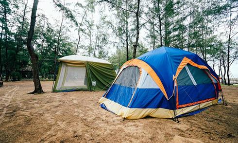 Khu cắm trại giữa rừng dương cách Sài Gòn 3 giờ chạy xe