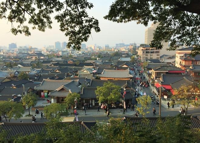 Thành phố không ai vội vã ở Hàn Quốc