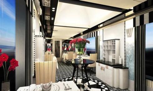 Tàu điện như khách sạn cao cấp sắp có tại Nhật Bản