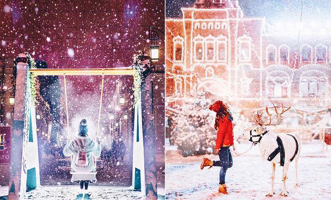 Nước Nga lộng lẫy trong tuyết và băng