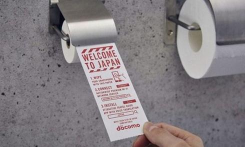 Nhật Bản cung cấp giấy vệ sinh thông minh cho du khách