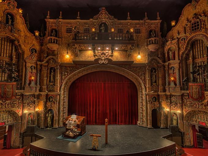 Những rạp hát bị ma ám ở Mỹ