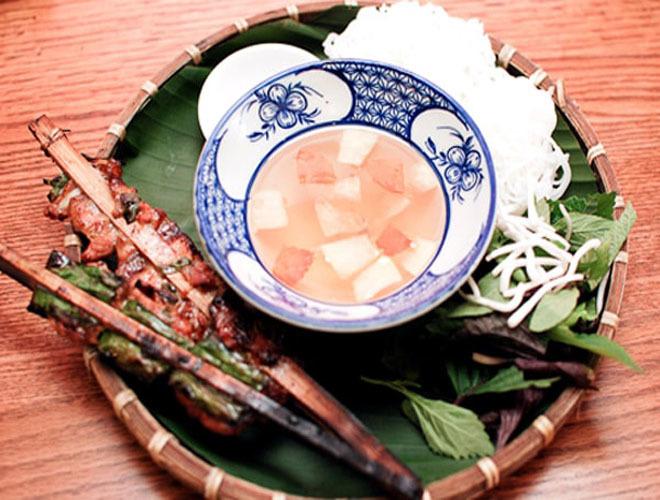 Thiên đường ẩm thực ngõ chợ Đồng Xuân