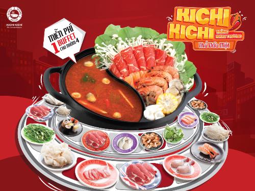 Kichi Kichi ưu đãi dịp khai trương nhà hàng thứ 2 tại Bình Dương