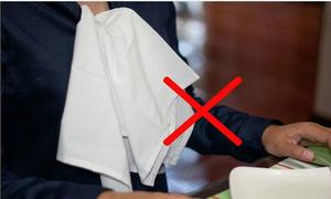 7 quy tắc sử dụng khăn ăn để trở thành người lịch sự