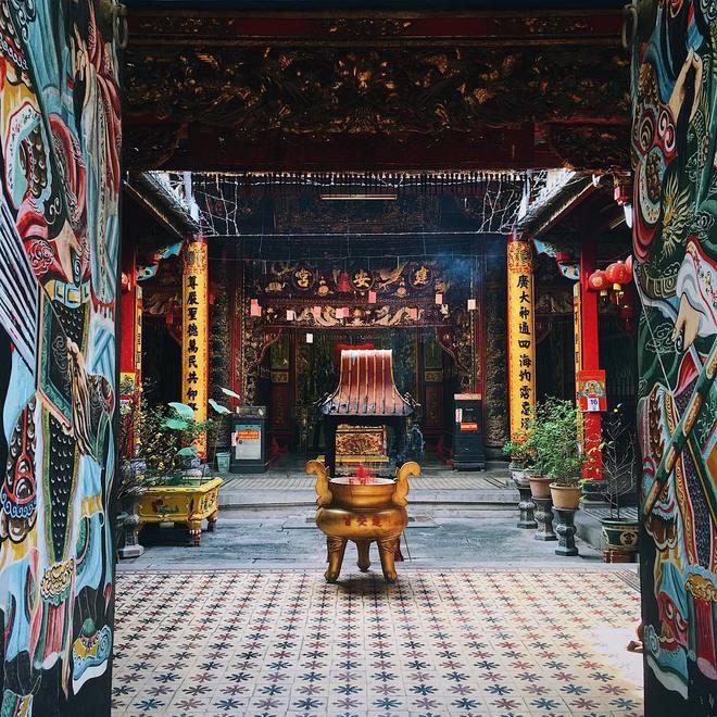 Một ngôi chùa cổ với tuổi đời cả trăm năm ở An Giang, thuộc vùng đồng bằng sông Cửu Long. Ảnh: haluphan.