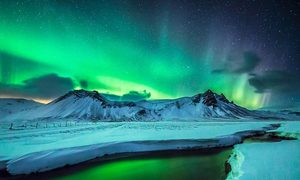 Vùng đất của băng và lửa vào mùa đông