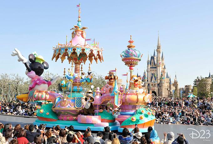 Bên trong công viên Disney làm thay đổi cuộc đời Kim Jong-nam