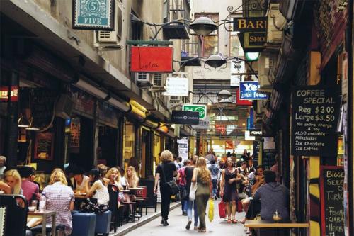 Melbourne - thành phố được các hãng hàng không liên tục mở chuyến bay đến. Ảnh: Hồng Liên.
