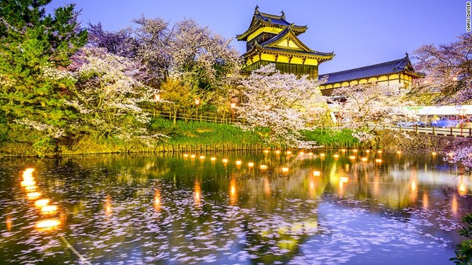 8 điểm ngắm hoa anh đào đẹp nhất Nhật Bản