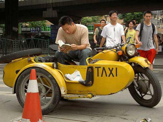 Nhung kieu taxi ky la nhat the gioi