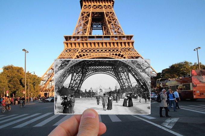 Vẻ đẹp của Paris hơn 100 năm trước