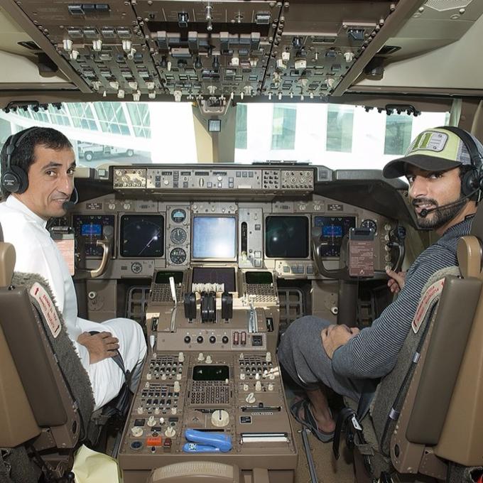 Những chuyến du lịch như trong mơ của thái tử tỷ phú Dubai