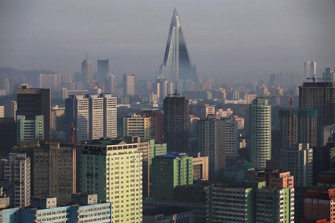 Những công trình kiến trúc khổng lồ ở Triều Tiên