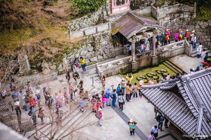 Kiyomizu Dera - chùa cổ nổi tiếng nhất Kyoto