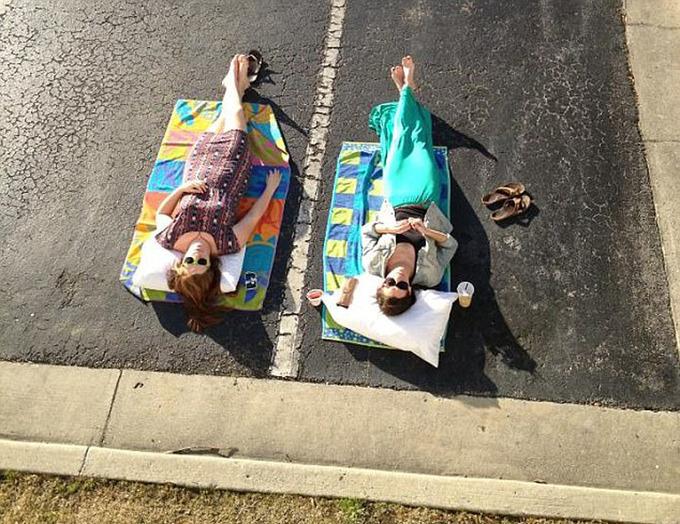 Những bức ảnh hài hước đối phó mùa hè của du khách