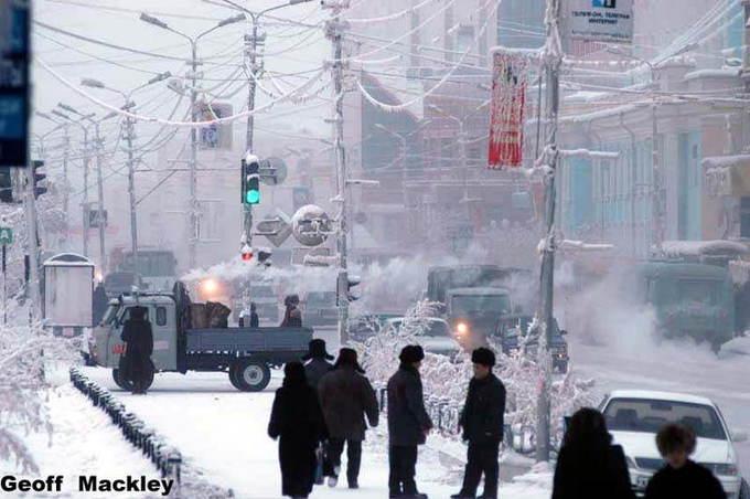 9 vùng đất nước sôi hắt ra chưa kịp chạm đất đã thành tuyết