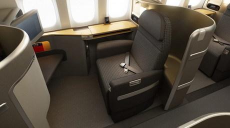 Các chuyến bay đi Mỹ hạng Business thường có khu vực ngồi rất thoải mái, ghế có thể ngả ra thành giường nằm, với nhiều dịch vụ giải trí.