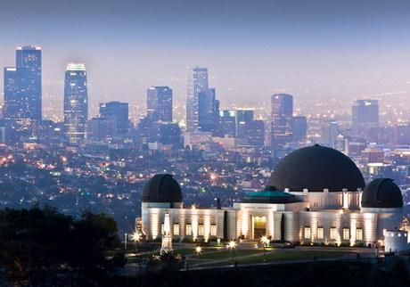 Đài thiên văn Griffith  nơi Mia và Sebastian của La La Land đã trao nhau nụ hôn đầu tiên và nhảy múa dưới bầu trời đêm đầy sao.