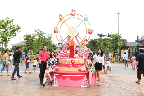 Nhiều hoạt động ý nghĩa dịp sinh nhật Sun World Halong Complex - ảnh 2