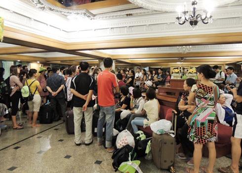 700 khách Việt từng bị bỏ rơi ở sân bay Thái Lan