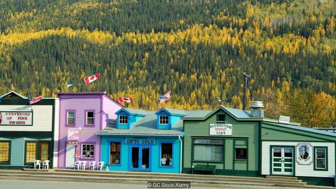 Thành phố giấu vàng dưới đáy sông ở Canada