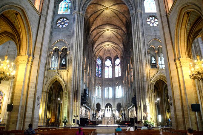 Bên trong nhà thờ Đức Bà hơn 850 năm tuổi ở Paris