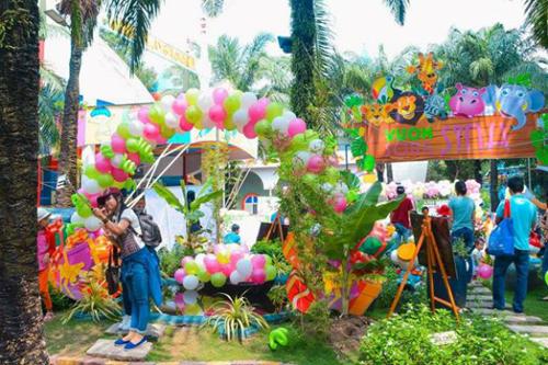 Ngày hội song sinh với nhiều hoạt động hấp dẫn được tổ chức vào ngày 09/07/2017 tại CVVH Đầm Sen