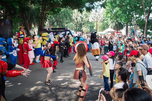 Ngày hội đường phố với nhiều hoạt động hấp dẫn diễn ra vào ngày 23/07/2017