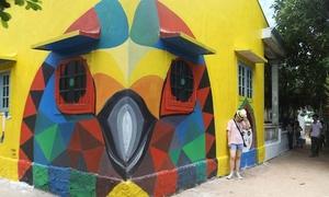 Ba làng bích họa miền Trung thu hút du khách