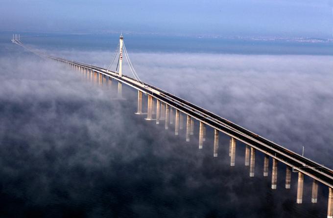 Cầu vượt biển dài nhất thế giới tại Trung Quốc