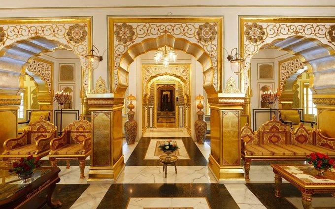 Maharajah Pavilion, khách sạn Raj Palace, Jaipur, Ấn Độ