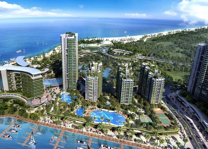 'Thành phố rừng' 100 tỷ USD đang hình thành sát Singapore
