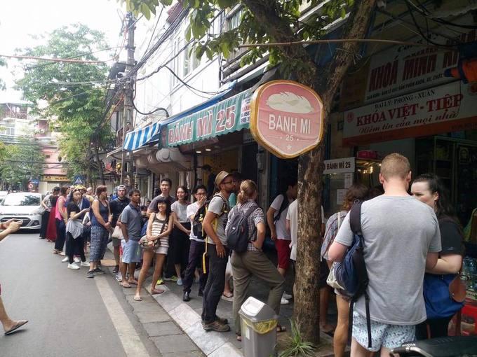 Những tiệm bánh mì nổi tiếng của Việt Nam