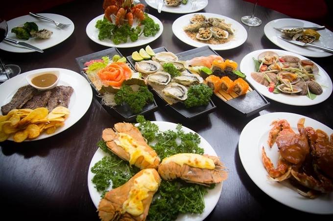 Năm nhà hàng tiệc tối ở Hà Nội và Sài Gòn cho dịp 2/9