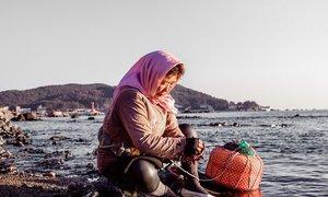 'Nàng tiên cá' gần 80 tuổi ở đảo Jeju