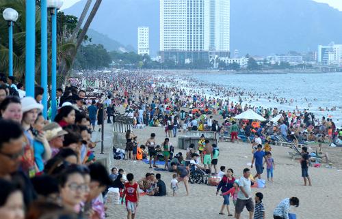 Khách du lịch nội địa đến trong dịp này chủ yếu là khách đến từ TP. Hồ Chí Minh, Khu vực miền Trung, Tây Nguyên, các tỉnh Miền Tây Nam Bộ và Hà Nội,