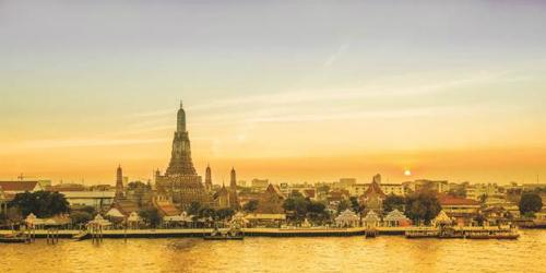 Bangkok sớm bình minh.