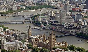 Vẻ đẹp khác lạ của London nhìn từ trên cao