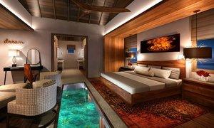Bể bơi độc đáo nằm dưới giường khách sạn