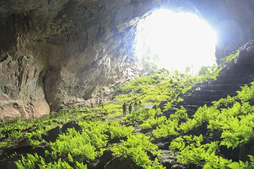Hang Pygmy có dài 845 m, độ sâu 94 m.